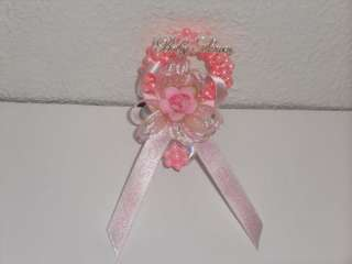 Baby Shower Girl Baby Shower Corsage Craft Bd Pk