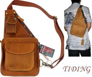 Leather Messenger Shoulder Bags Backpacks For Hiking and Climbing