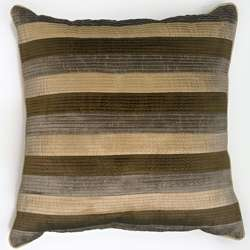 Ellsworth Olive Green Throw Pillows (Set of 2)