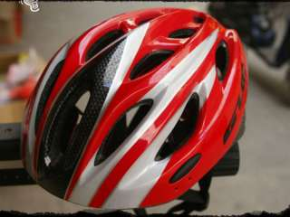 New Red Mountain Road Bike Helmet w/ LED GUBUU M L M37