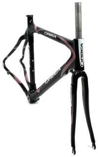 08 ORBEA ONIX DAMA 53cm Womens Road Bike Frameset Full Carbon W/Fork