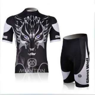 New Cycling Bicycle Bike Comfortable Outdoor Sport Jersey + Shorts