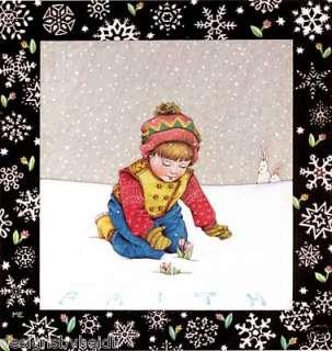 Mary Engelbreit Christmas Fridge Magnet Faith