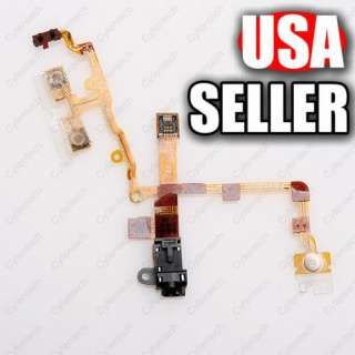 Earphone Jack Power Volume Switch Flex Cable iPhone 3G