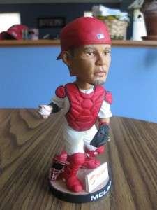 2007 SGA Yadier Molina Bobblehead Doll St. Louis Cardinals Stadium