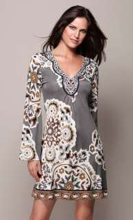 Silk Jersey Dress XS 0 2 UK 4 6 NWT $356 Moscow Nights Neutral Beaded