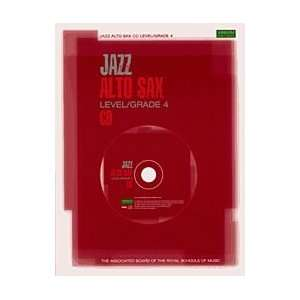 Jazz Alto Sax CDs for Levels/Grades 4 (9781860963223