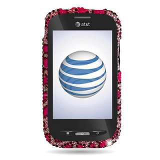 Zebra Skin Design Faceplate Cover Case For Verizon Pantech Hotshot