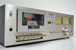 Technics Stereo Cassette Deck Tape Player Recorder RS 616
