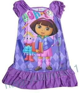 BRAND NEW Girls Dora L for age 6 7 Girls Princess version sleepwear