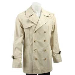 French Connection Mens Double breasted Trench Coat