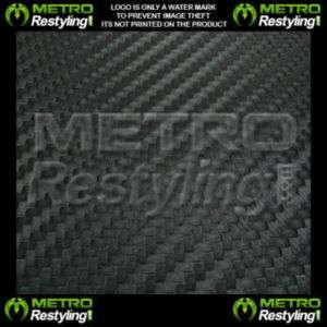 3D Flexible Carbon Fiber Vinyl Sheet Wrap Hood 60 5FT