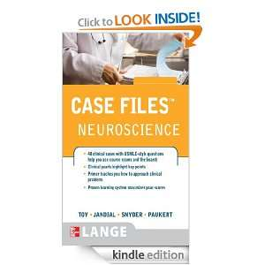 Case FilesTM  Neuroscience (LANGE Case Files) Evan Y. Snyder