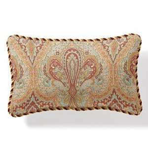 Outdoor Outdoor Lumbar Pillow in Symphony Bliss with