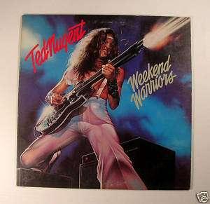 Ted Nugent   Weekend Warriors Vintage Vinyl 1978 Gd Cd
