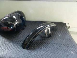 07 and Newer Harley FXSTC Softail Custom Paint Tin Set Tank Fenders