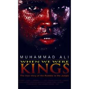 Were Kings [VHS] Muhammad Ali, George Foreman, Don King, James Brown