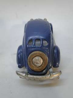 30s HUBLEY CAST IRON TOY CAR 62205 BLUE SEDAN 2201 VINTAGE AUTOMOBILE