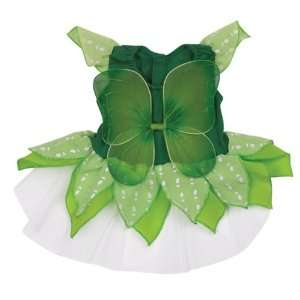 Zoey Cotton/Polyester Fairy Tails Dog Costume, X Small, 8 Inch, Green