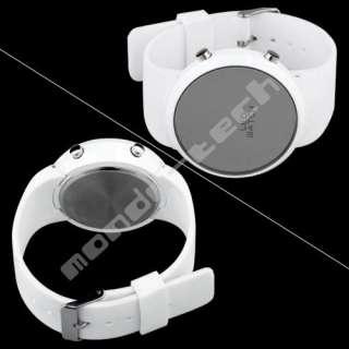 New Trendy Toned LED Men Lady Women Digital Watch White