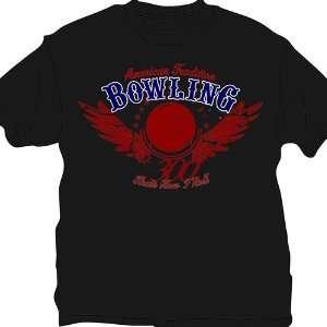 Thats How I Roll Bowling T Shirt  Black