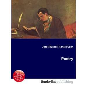 Poetry Ronald Cohn Jesse Russell  Books