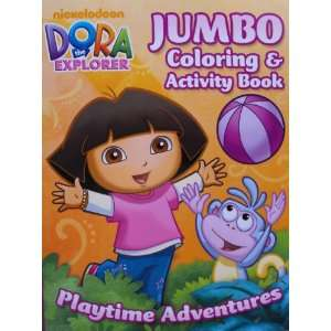 Dora the Explorer 96 Page Coloring and Activity Book