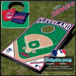Cleveland Indians MLB Baseball Tailgate Toss Cornhole Game