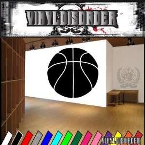 Basketball Ball Bball Sport Sports Vinyl Decal Stickers 016