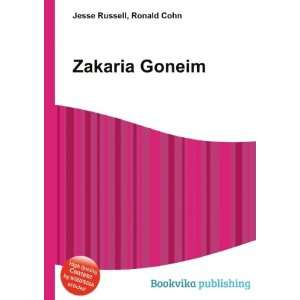 Zakaria Goneim Ronald Cohn Jesse Russell  Books