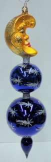 RADKO Dew Drop Moon ORNAMENT Reflector STAR 0202720