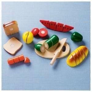Kids Kitchen & Grocery Kids Pretend Wooden Sliced Toy