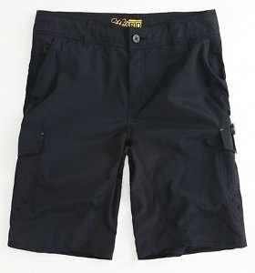 Neill Black Hybrid Traveler Cargo Shorts Boardshorts