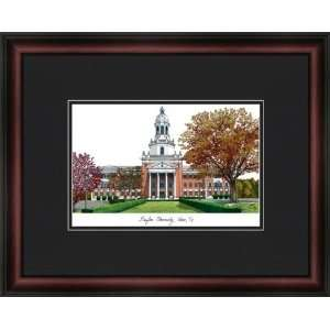 Baylor University Bears Framed & Matted Campus Picture