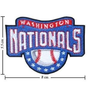 Washington Nationals Logo Iron On Patches: Everything Else