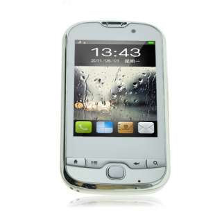 New Fashion Unlocked Dual Sim Analog TV Mobile Touch Cell Phone