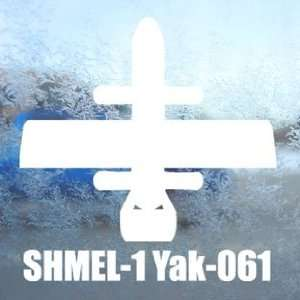 SHMEL 1 Yak 061 White Decal Military Soldier Car White