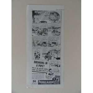 Prince Albert Pipe tobacco. Vintage 30s print ad. (OlJudge Robbins