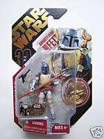 Animated Boba Fett Star Wars Galactic Hunt 30th Anniv.