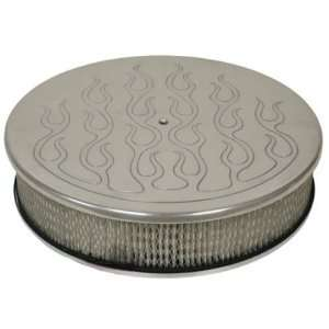Chevy/Ford/Mopar 14 Round Polished Aluminum Air Cleaner