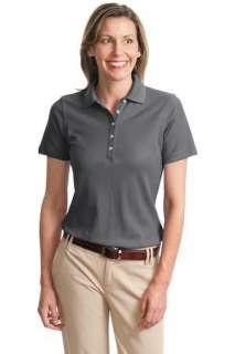 Port Authority   Ladies EZCotton Pique Sport Shirt L800