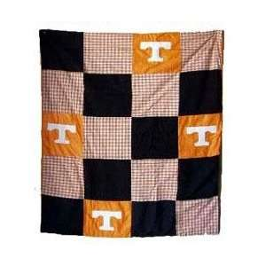 Tennessee UT Vols Volunteers 50X60 Patch Quilt Throw