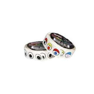 Chenille Kraft Company Wiggle Eyes Stickers On A Roll Blk Crafts