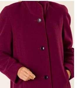 womens winter Wool coat long jacket Plus XL 1X 2X 3X4X