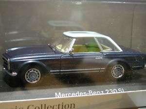43 Minichamps Mercedes Benz 230 SL (light blue roof)