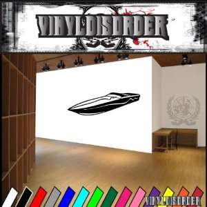 Boat Boats Large Vinyl Decal Stickers 010