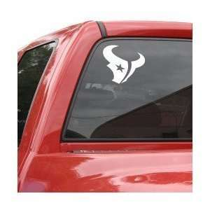 Houston Texans 8in x 8in Die Cut Decal