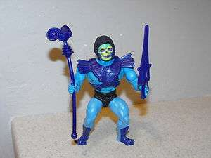 Vintage 1982 He Man MOTU Half Boot Skeletor Figure Near Complete
