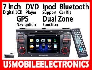 D5102 7 IN DASH MAZDA3 CAR DVD PLAYER GPS IPOD USB SD
