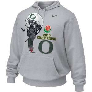 Nike Oregon Ducks Ash 2010 Rose Bowl Champions Official Locker Room